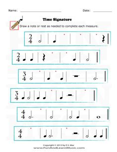Time Signature - SproutBeat Music Theory Lessons, Music Theory Worksheets, Music Lessons For Kids, Music Lesson Plans, Music For Kids, Art Lessons, Piano Teaching, Teaching Art, Middle School Music