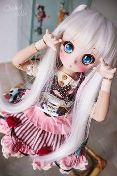 Welcome home, Nebula! Kawaii Doll, Kawaii Anime Girl, Anime Art Girl, Anime Dolls, Bjd Dolls, Barbie, Personajes Monster High, Cute Baby Dolls, Cute Cartoon Girl