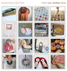400 Homemade Gifts for 2011 {free patterns}- there are categories for gifts for men, under $10,  etc.