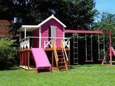 Casitas de madera para niños por dentro - Imagui