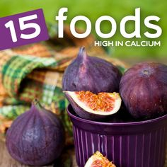 Some of these calcium rich foods may surprise you…