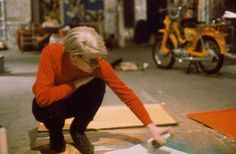 Warhol at work Andy Warhol : More At FOSTERGINGER @ Pinterest