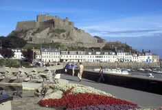 Another view of Jersey with Mount Orgueill and Saint Martin's.