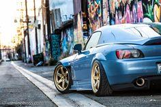 blue s2000