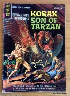 ★ Korak Son of Tarzan  Gold Key Comic 1964 10101.405  May ★
