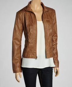 Giacca Cognac Jacket