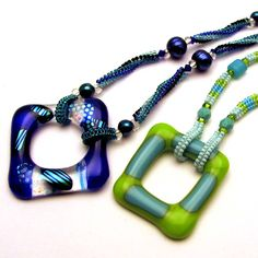 Glass & Bead necklace