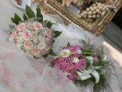 Settembre: matrimonio romantico in rosa di Fabiola e Roberto www.matrimoniocreativo.it