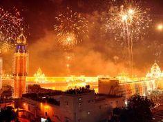See a Diwali festival