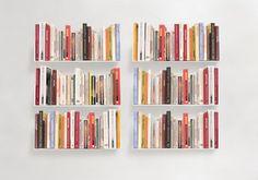 """Mensole per libri """"US"""" - Set di 6 - 45 cm - Acciao"""