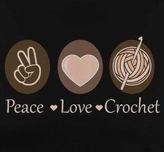 Crochet Art, Love Crochet, Beautiful Crochet, Crochet Crafts, Bead Crafts, Crochet Stitches, Crochet Projects, Knitting Humor, Crochet Humor