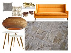 """""""Peaches and Cream"""" by immar on Polyvore featuring interior, interiors, interior design, home, home decor, interior decorating, Gus* Modern, Evitavonni, Jonathan Adler and Convenience Concepts"""