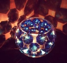 Blue Diamond Honeycomb Centerpiece Honeycomb, The Selection, Heart Ring, Centerpieces, Beads, Diamond, Rings, Blue, Collection