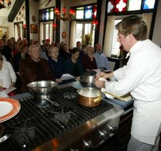 Chef Jacques  VA Cooking Class
