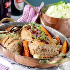Burgundisk köttfärslimpa