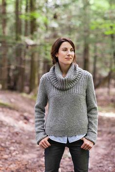 Brooklyn Tweed Oshima Cowl Neck Pullover Pattern Designer: Jared Flood YARDAGE Fingering weight wool yarn in the following approximate amounts: 2285 (2500, 2775, 3045, 3385, 3590) yards 4 stitches and