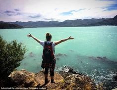Adventure is out there in Diamond Harbour, New Zealand. Photo by Maggie Gallagher. #UDAbroad