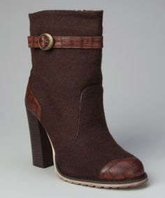 Brown Honey Boot