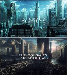 tbh i would see it being flipped.... i see the republic being a bit dark and grey, overcast most days but the colonies are dark and when i think about the colonies it's always night.