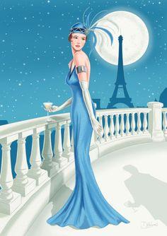 Darran Holmes - DH042 Deco Lady Blue dress.jpg