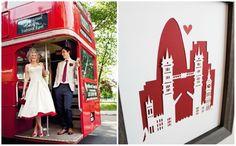 nozze in stile londinese