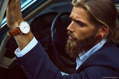 This dapper man is model Ben Dahlhaus. | This Male Model Is Really, Really Ridiculously Good-Looking