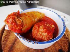 Ungarisch gefüllte Paprikaschote aus dem Slowcooker | Paprika meets Kardamom