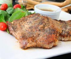 Pork Chops with Whiskey Cream Sauce 2