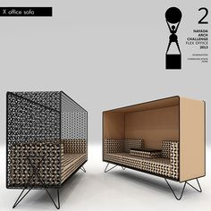 X-Collection by MILODAMALO on Behance Steel Furniture, Space Furniture, Sofa Furniture, Office Furniture, Furniture Design, Corporate Interiors, Office Interiors, Brainstorm, Modern Interior Design