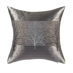 Stylish+Tree+Polyester+Decorative+Pillow+Cover+–+AUD+$+11.87