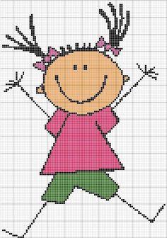 Cross Stitch Needles, Cute Cross Stitch, Cross Stitch Borders, Cross Stitching, Cross Patterns, Loom Patterns, Counted Cross Stitch Patterns, Cross Stitch Embroidery, Pixel Crochet Blanket