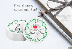 Wedding Favor Tags, Paper