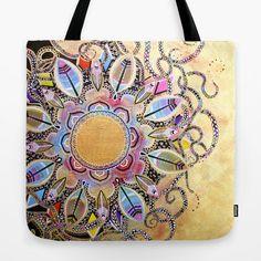 Colors of the wind Tote Bag by laurafrere Wings, Shoulder Bag, Tote Bag, Colors, Stuff To Buy, Mandalas, Shoulder Bags, Totes, Colour