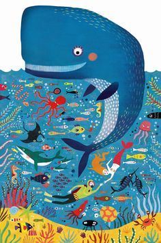 Mariana Ruiz Johnson Illustrations: New product designs for Londji, Creative Toys (Catalunya) Posca Art, Fish Art, Illustrations And Posters, Children's Book Illustration, Art For Kids, Art Projects, Character Design, Drawings, Creative