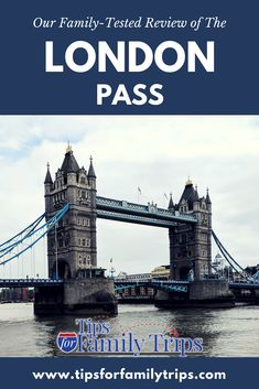 Our family-tested review of The London Pass. This pass will get you into many of London's most popular attractions for one set price. You can save 30-50%. Get tips for making the most of The London Pass. | tipsforfamilytrips.com #TheLondonPass #tipsforfamilytrips #londononabudget #London #travel #vacationideas #Londononabudget