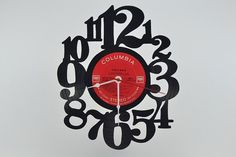 Home Decor Vinyl Record Album Wall Clock artist by vinylclockwork, $23.00