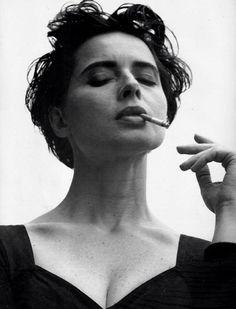 Dolce & Gabbana F/W 1989/90 Photographer: Steven Meisel Model: Isabella Rossellini
