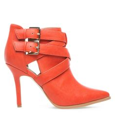 Fabulous coral boots