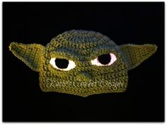 THE YODA Stars Wars Crochet Hat Beanie