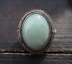 Vintage Ring Green Stone Poison Ring in by BavierBrook  --Love, love, love this poison ring!!