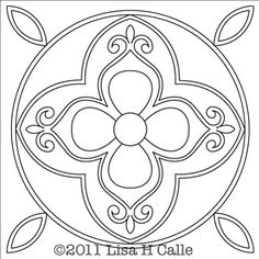Free Block Design from Stone House Quilting:  Simply Spectacular Daisy