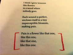 "robert creeley ""the flower poem"" - gosh, this one just has always stayed with me #poetry #poems #creeley"