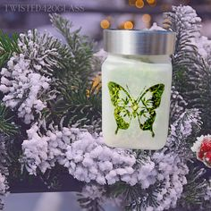 Butterfly Ladies Stash Jar, Cute Weed Gifts for Stoner Girls, 420 Christmas Gifts, Funky Intention Candle Holders / Winter Spell Jars 420 Holiday, Christmas Candy, Christmas Gifts, Bad Valentines, Stash Jars, Stoner Girl, Gamer Gifts, Gifts For Brother, Candy Jars