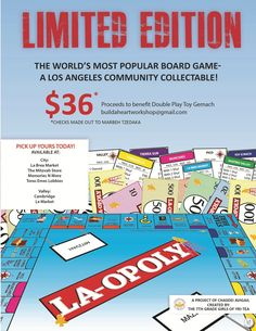 LA-OPOLY Most Popular Boards, Lobbies, Making Out, Board Games, Memories, Marketing, Logs, Role Playing Board Games, Souvenirs