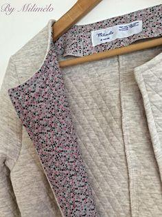 Milimélo de couture: La veste Mona