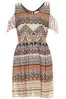 Topshop Band of Gypsies Paisley Dress