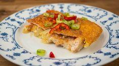 Znáte prezidentské řízky? Tato specialita je výborná pro každou speciální příležitost, kterou ovšem může být i nedělní oběd v kruhu rodinném. Vyzkoušejte tento recept a budete se oblizovat až za ušima! Suroviny: 300 g kuřecích prsíček 150 g gothaje (junior, šunkový,...) 2 cibule 100 g eidamu 3 vejce sůl sladká papr… Lasagna, French Toast, Sandwiches, Tacos, Breakfast, Ethnic Recipes, Tube, Morning Coffee, Paninis