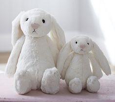 Cream Bunny Plush #PotteryBarnKids