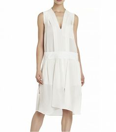 @Who What Wear - BCBGMAXAZRIA Runway Dakota Dress ($498)  Leave your body-skimming dresses at home in favor of food-friendly silhouette.