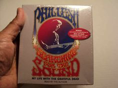 Searching for the Sound (My Life With the Grateful Dead) by Phil Lesh. Read by the author. An abridgement of Searching for the Sound. 5 CDs. Running time: approximately 6 hours. New. Still in shrink wrap. Never been opened nor used. Released in 2005.